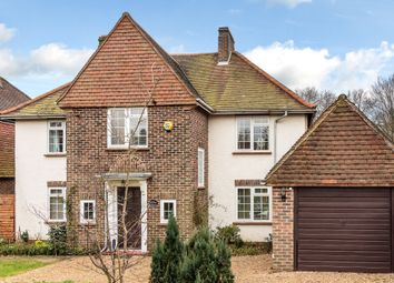 Thumbnail 4 bed detached house to rent in Granville Road, Limpsfield, Oxted, Surrey