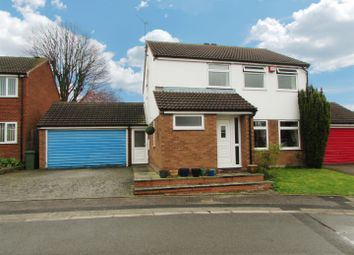 Thumbnail 4 bed detached house for sale in Jarrett Close, Enderby, Leicester