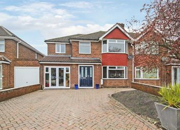 Thumbnail 4 bed semi-detached house for sale in Bucklebury Close, Stratton, Wiltshire