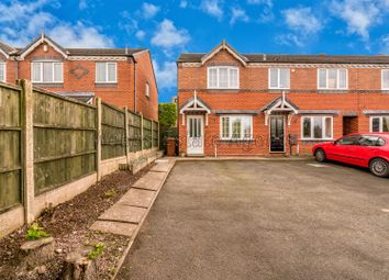 Thumbnail 2 bed end terrace house for sale in Hodson Way, Cannock