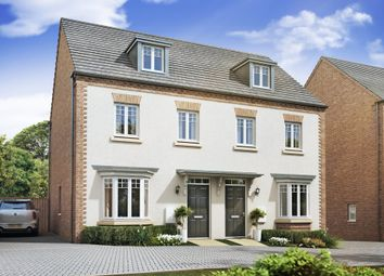 "Thumbnail 3 bed semi-detached house for sale in ""Kennett"" at Sandlands Drive, Bury St Edmunds, Bury St Edmunds"