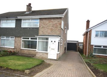 Thumbnail 3 bed semi-detached house for sale in Melrose Crescent, Guisborough