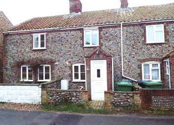Thumbnail 2 bed terraced house for sale in Bacton, Norwich, Norfolk