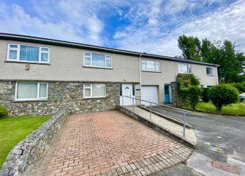 Thumbnail 4 bed terraced house for sale in Bro Llwyn Estate, Pwllheli