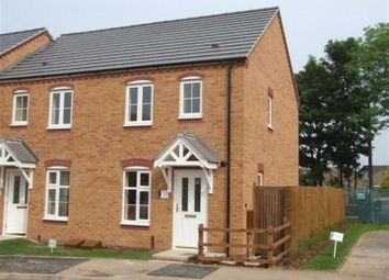 Thumbnail 2 bed end terrace house to rent in Darwin Crescent, Loughborough