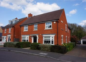 Thumbnail 4 bedroom detached house for sale in Hubberd Road, Dunmow