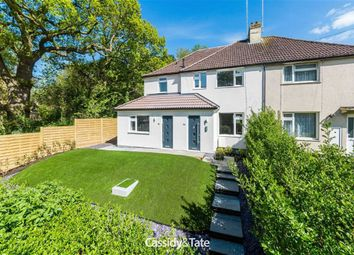 Thumbnail 2 bed flat for sale in Dellfield, St Albans, Hertfordshire