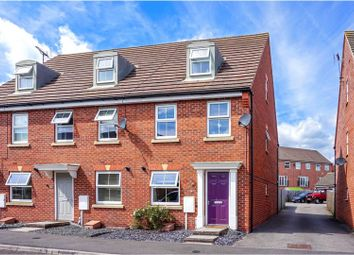 Thumbnail 3 bed town house for sale in James Street, Leabrooks