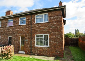 Thumbnail 3 bedroom end terrace house for sale in Bentley Grove, Hull