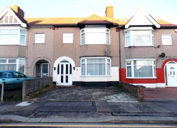 Thumbnail 3 bed terraced house to rent in Stapleford Avenue, Newbury Park, Ilford