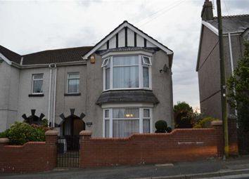 Thumbnail 4 bedroom semi-detached house for sale in Carnglas Road, Swansea