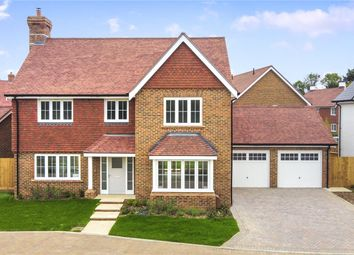Thumbnail 4 bed detached house for sale in Willowbrook, Elmbridge Road, Cranleigh, Surrey