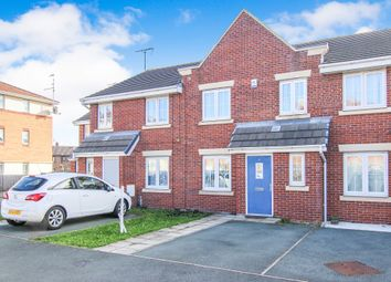 Thumbnail 4 bed terraced house for sale in Kingham Close, Moreton, Wirral