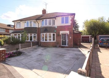 Thumbnail 3 bed semi-detached house for sale in Hawthorn Avenue, Timperley, Altrincham