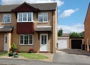 Thumbnail 3 bed semi-detached house to rent in Covill Close, Great Gonerby, Grantham, Grantham