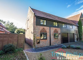 Thumbnail 2 bed barn conversion for sale in Wayford Road, Stalham, Norwich