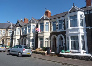 Thumbnail 2 bed flat to rent in Tewkesbury Street, Cathays, Cardiff