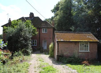 Thumbnail 3 bed semi-detached house to rent in Church Hill, Pakenham, Bury St. Edmunds