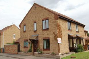 Thumbnail 3 bedroom semi-detached house for sale in Hoylake Drive, Stanground, Peterborough
