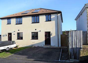 Thumbnail 3 bed semi-detached house for sale in Tennis Court Avenue, Paulton Village, Bristol