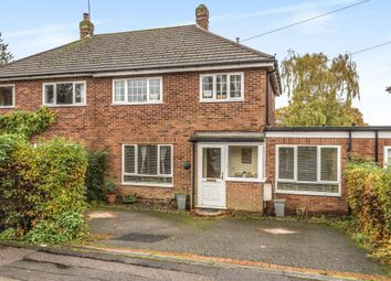 Thumbnail 4 bed semi-detached house for sale in Leywood Close, Amersham