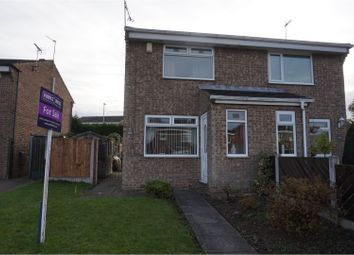 Thumbnail 2 bed semi-detached house for sale in Fleming Way, Rotherham