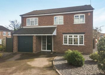 Thumbnail 4 bed detached house for sale in Prospect Road, Kibworth, Leicester