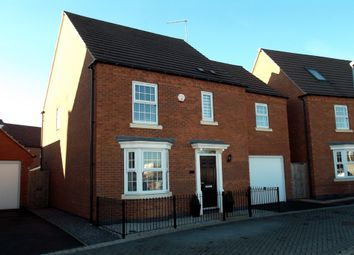 Thumbnail 4 bedroom detached house for sale in Hobben Crescent, Hucknall, Nottingham