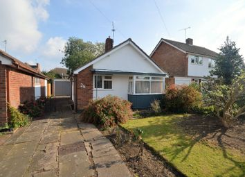 Thumbnail 2 bedroom bungalow for sale in Coombe Rise, Oadby, Leicester