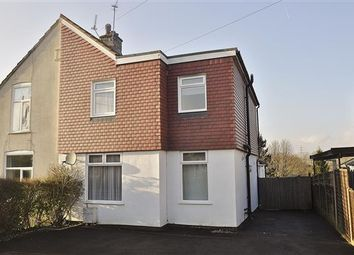 Thumbnail 4 bed semi-detached house for sale in Hillbrow Road, Ashford