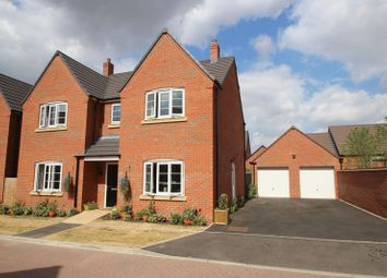 Thumbnail 4 bed detached house for sale in Bosworth Avenue, Stratford-Upon-Avon