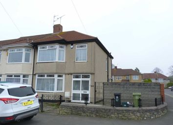 Thumbnail 3 bedroom end terrace house to rent in Stoneleigh Road, Knowle, Bristol