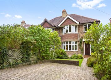 Thumbnail 3 bed semi-detached house to rent in Redstone Park, Redhill, Surrey