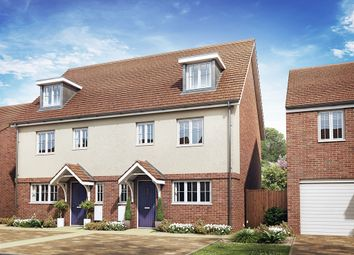 "Thumbnail 4 bed semi-detached house for sale in ""The Leicester"" at Rattle Road, Stone Cross, Pevensey"