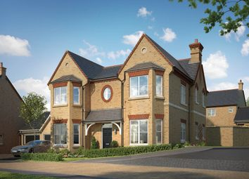 "Thumbnail 5 bed property for sale in ""The Haddenham"" at Hitchin Road, Fairfield, Hitchin"