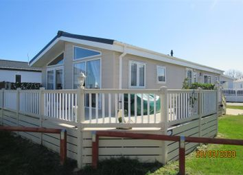 Thumbnail Mobile/park home for sale in Sea View Holiday Park, St. Johns Road, Whitstable