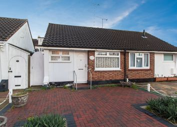 Thumbnail 1 bedroom semi-detached bungalow for sale in Hampton Close, Southend-On-Sea