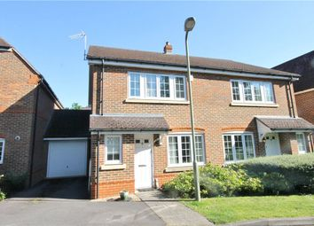 Thumbnail 3 bed semi-detached house for sale in Fircroft Road, Englefield Green, Surrey