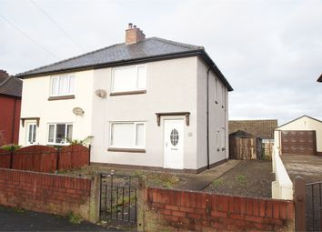 Thumbnail 3 bed semi-detached house for sale in Brindlefield, Wigton, Cumbria