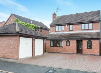 Thumbnail 4 bed detached house for sale in Ayrshire Way, Congleton