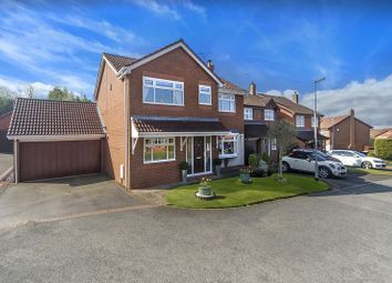 Thumbnail 4 bedroom detached house for sale in Bridgewater Drive, Wombourne, Wolverhampton