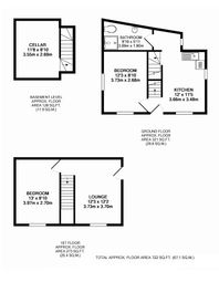 Thumbnail 2 bedroom end terrace house for sale in Garth Hill, Bangor