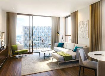 Thumbnail 3 bed flat for sale in Glacier House, The Residence, 40-42 Ponton Road, Nine Elms