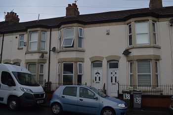 Thumbnail 2 bed terraced house to rent in Craven Street, Birkenhead, Wirral