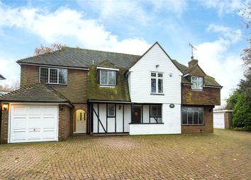 Thumbnail 4 bedroom detached house for sale in Upper Cornsland, Brentwood, Essex