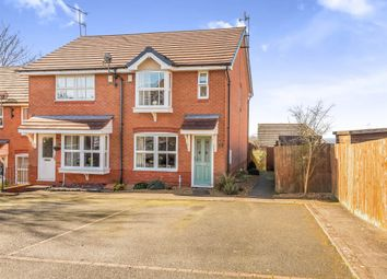 Thumbnail 2 bed end terrace house for sale in Hopton Gardens, Dudley