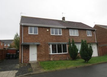 Thumbnail 3 bed semi-detached house to rent in Johnson Close, Peterlee, County Durham