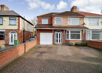Thumbnail 4 bed semi-detached house for sale in Aylestone Lane, Wigston, Leicester