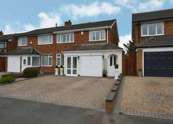 Thumbnail 3 bed semi-detached house for sale in Branscombe Close, Kings Heath, Birmingham