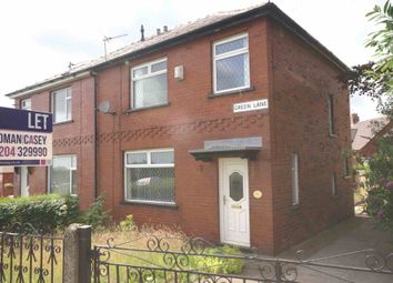 Thumbnail 3 bed semi-detached house to rent in Green Lane, Horwich, Bolton